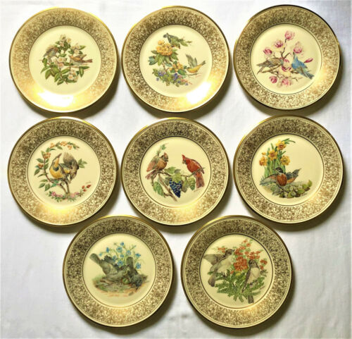 LENOX Limited Edition Collector Bird Plates Designed by Edward Marshall Boehm