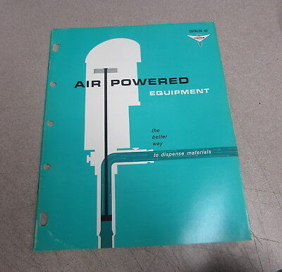 Lincoln Catalog 42 Air Powered Equipment Specification Brochure Manual 1967