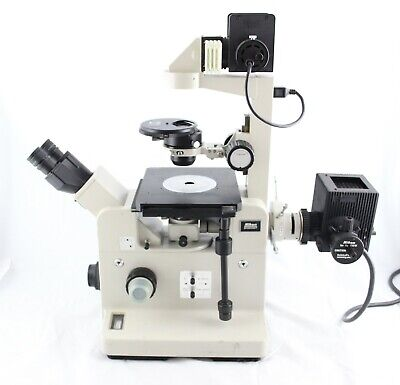 Nikon Fluorescence Phase Contrast Diaphot Tmd Inverted Microscope