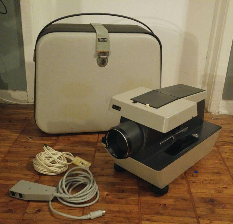 Vintage Rollei P11 35mm & Medium Format Slide Projector Remote Case