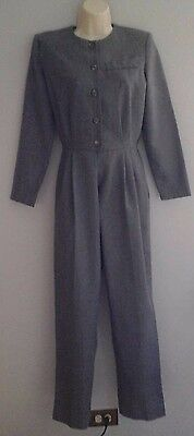 LADIES JUMPSUIT IN GRAY BY AVON FASHIONS SIZE 7/8