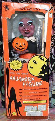 Halloween Motionette (Vintage 1988 Telco 24