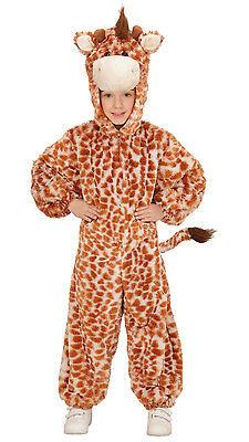 Gribaldo Giraffe Plüschkostüm NEU - Mädchen Karneval Fasching Verkleidung Kostüm ()