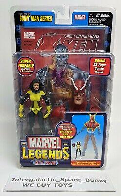 Toybiz Marvel Legends Exclusive X-men Kitty Pryde Shadowcat Action figure MOC