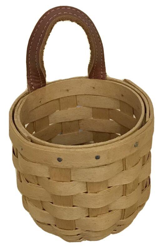 Longaberger Extra Small Gatehouse Basket 2003