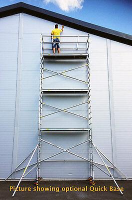 Scaffold Usa 21 Ft Single Wide Aluminum Mobile Scaffold Tower