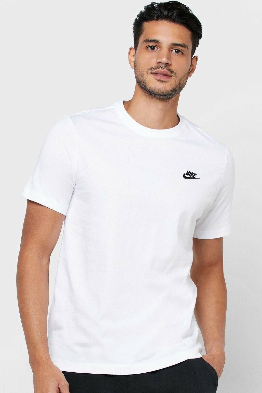 Nike Men's T-Shirt Athletic Active Wear Crew Neck Swoosh Log