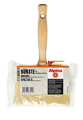 alpina effekt b rste f r wandfarbe struktur farbe maler. Black Bedroom Furniture Sets. Home Design Ideas