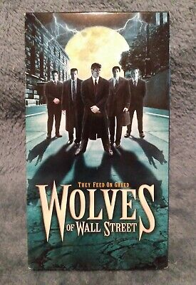 Wolves On Wall Street VHS Tape Movie William Gregory Lee Horror RARE OOP CULT