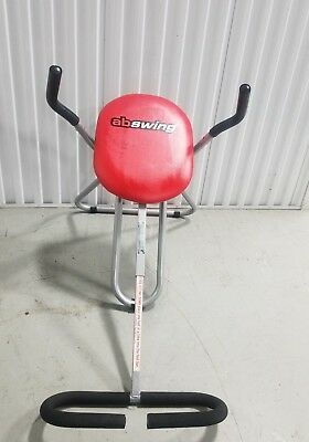 Ab Swing Abdominal Folding Exerciser Fitness Machine Core Crunch Trainer Gym, used for sale  Shipping to Canada