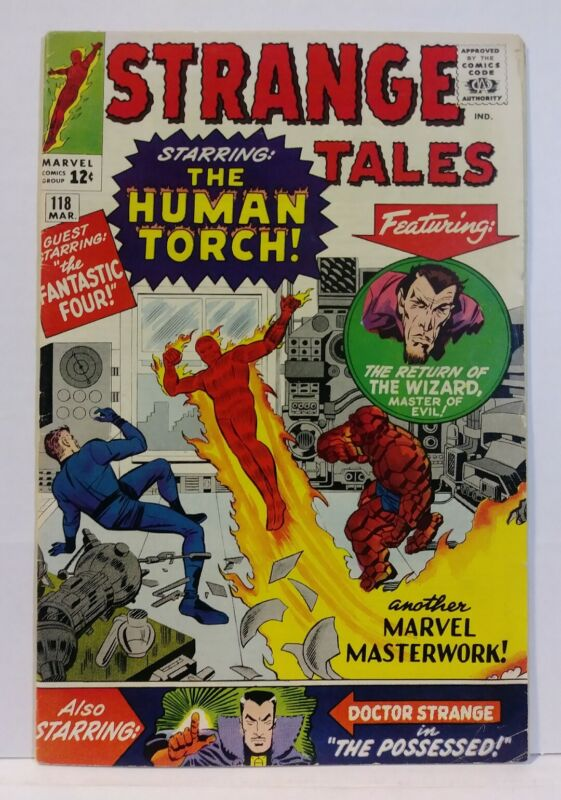 Strange Tales #118 1st Doctor Strange Cover