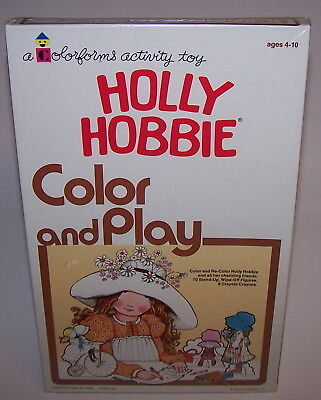 Holly Hobbie Color and Play Set ~Year 1975 Colorforms