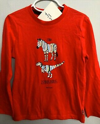 Boys Paul Smith Junior Long Sleeve Top Size 6 Nwt