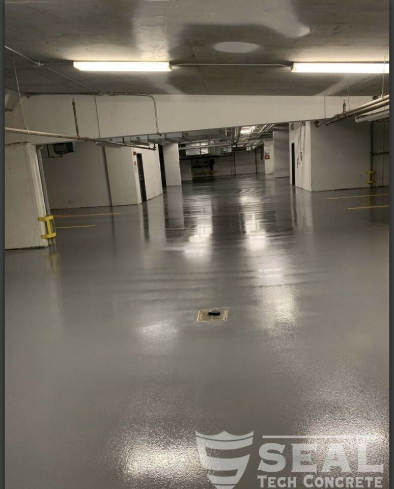 High Performance Floor Coatings By Seal Tech Concrete