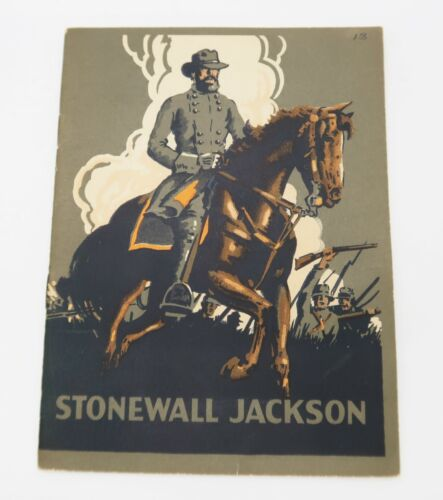 Stonewall Jackson pamphlet booklet 1926 John Hancock Mutual Life Insurance