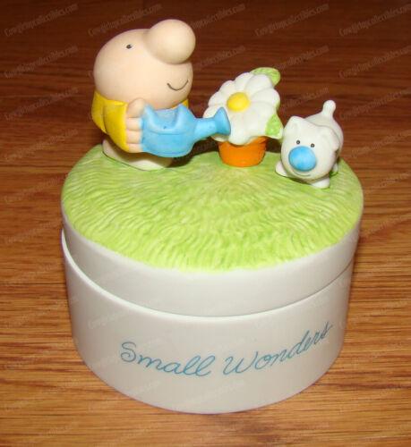 Ziggy & Fuzz SMALL WONDERS Porcelain Treasure Box (1982) Daisy
