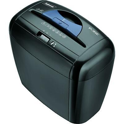 Fellowes Powershred P-35c 5-sheet Cross-cut Paper And Credit Card Shredder With