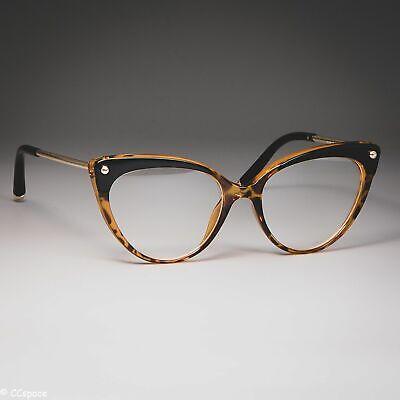 Cat Eye glasses frames women trending rivet  styles  fashion elegant (Trending Eyeglass Frames)