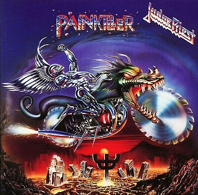 Judas Priest - Painkiller Album Cover Art Print Poster 12 x 12