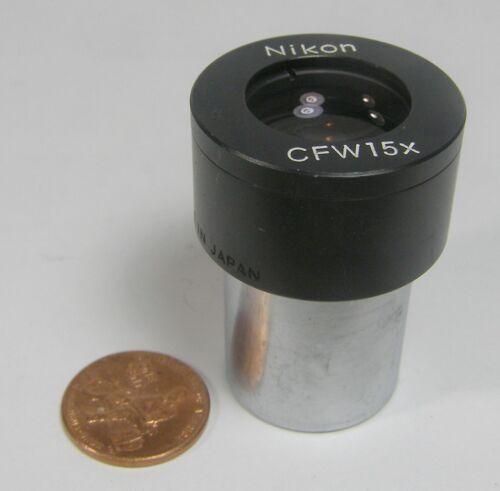 Nikon Microscope Eyepiece 1ct. CFW 15X