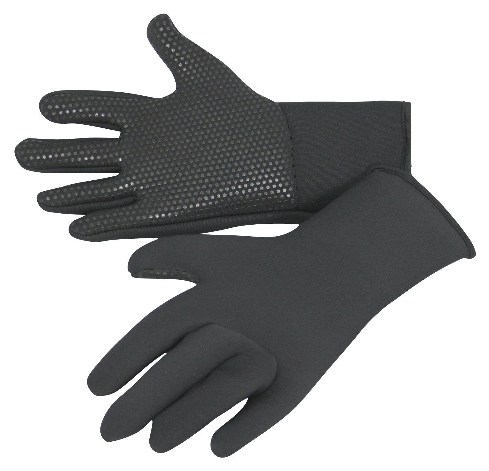 kids wetsuit gloves, titanium 3mm neo, grippy palms, warm & stretchy ages 5 - 15