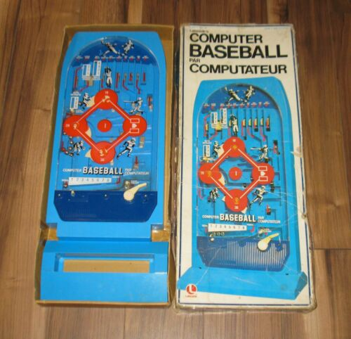 Epoch Vintage 1976 Computer Baseball Pinball Game Japan With Box FREE SHIPPING