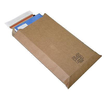 Versandtasche Premium aus Mikro-Wellpappe Karton DIN A4 - 353x250mm (PS.403)