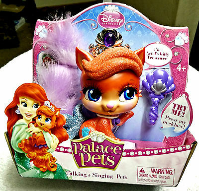 Disney Princess Palace Pets Ariel's Kitty Treasure Talking & Singing - Disney Princess Palace