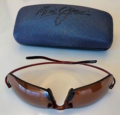 Elegante original MAUI JIM Sonnenbrille schokobraun polarisiert Modell MJ-577-07