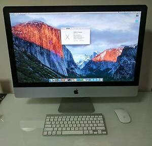 "Apple IMAC 27"" With Intel Core i5 - Quad Core 2.8 Ghz Southport Gold Coast City Preview"