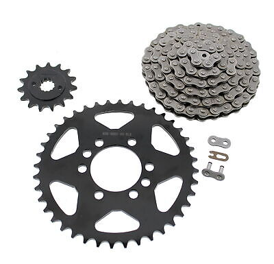 2004 2005 2006 Kawasaki KFX400 Chain & Black Sprocket Set 15/40 96L