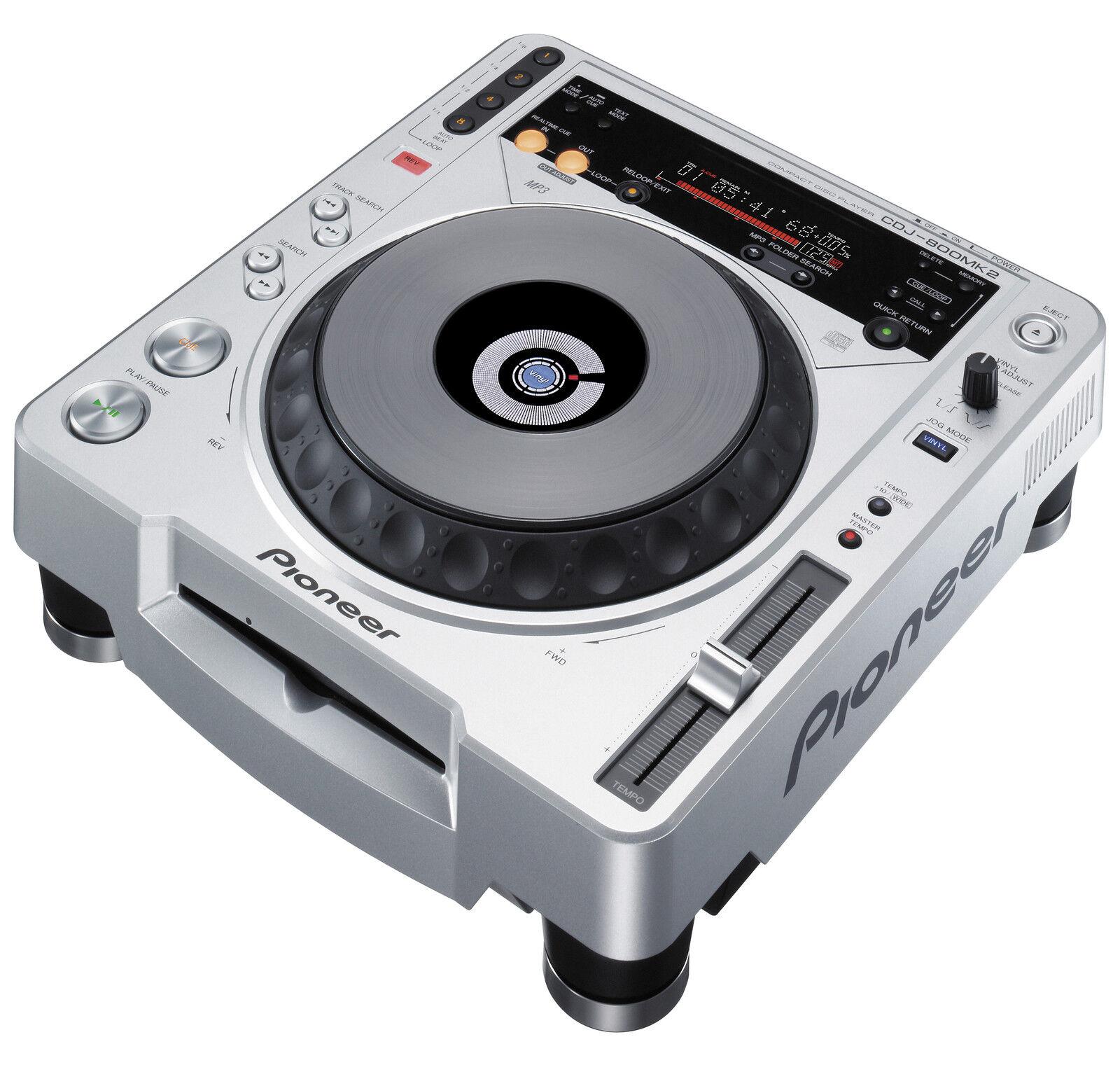 pioneer cdj800mk2 dj turntable ebay rh ebay com