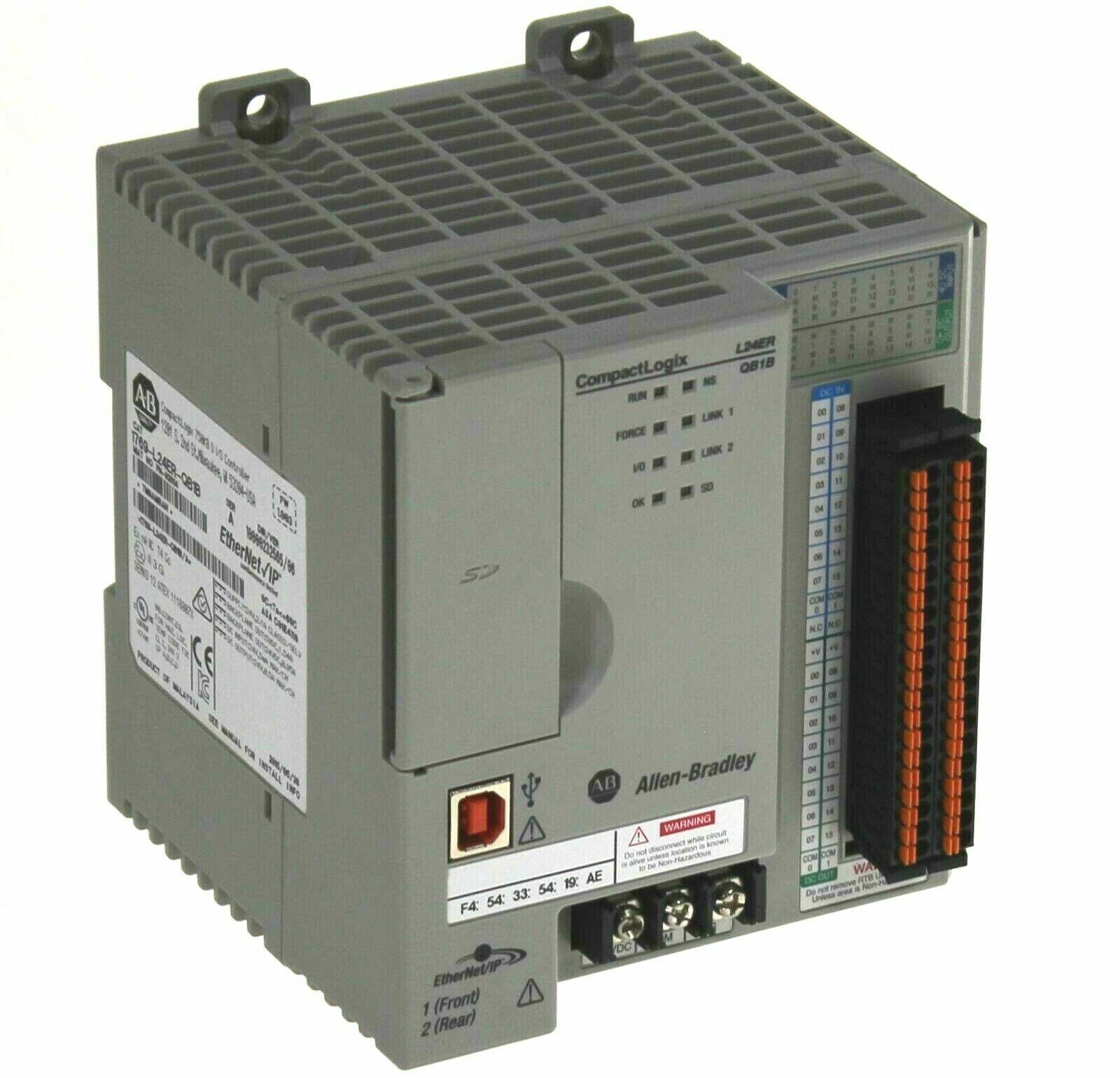 Allen-Bradley 1769-L24ER-QB1B Processor/Controller