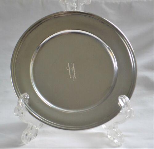 """Vintage S. Kirk & Son Sterling Silver Dessert or Salad Plate 6 """""""