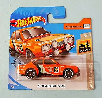 Hot Wheels 2020. 70 Ford Escort RS1600. New Collectable Toy Model Car.