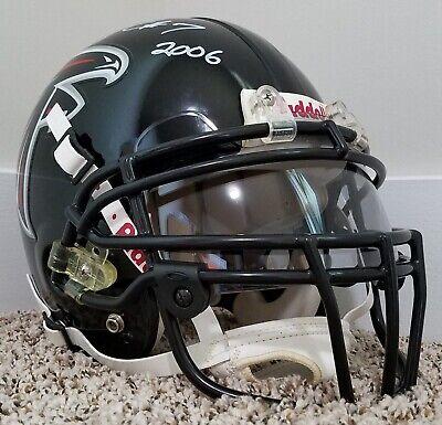 MICHAEL VICK 2006 Game Worn Used Autographed AUTHENTIC Falcons Helmet VICK LOA  - Vicking Helmet