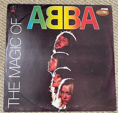 ABBA - The Magic Of ABBA - Rare 1980 South American issue 16 track vinyl LP