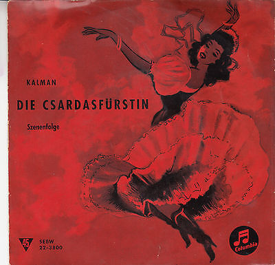 Kalman - Die Csardasfürstin, Single
