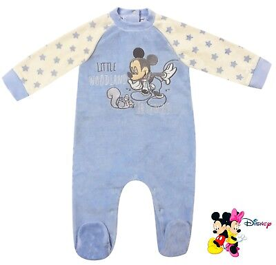 Disney Baby Schlafanzug Pyjama Mickey Maus 3 6 12 18 24 (Mickey Maus Pyjama Kostüme)