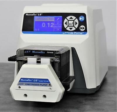 Cole Parmer 7551-30 Masterflex Ls Digital Multichannel Heads Peristaltic Pump