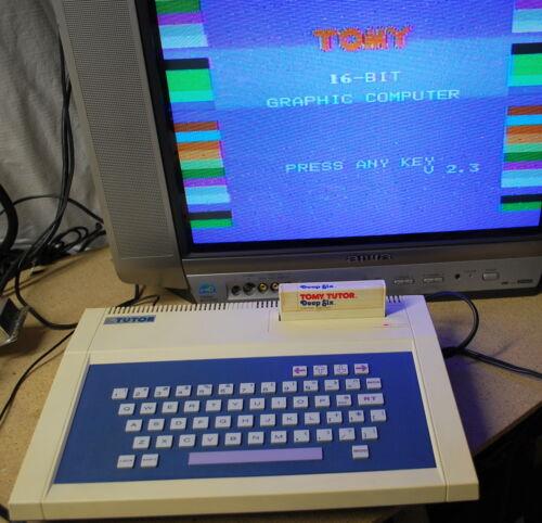 Vintage Tomy Tutor 16 Bit  Computer Works (Ships Worldwide)