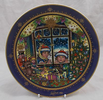 Villeroy & and Boch CHRISTMAS 1991 Heiligabend plate BOXED Gero Trauth
