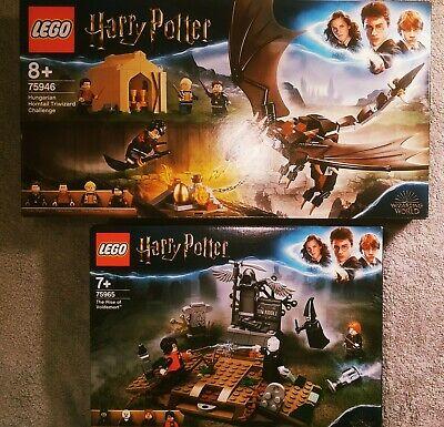 LEGO Harry Potter 75946 + 75965. Brand New !!!