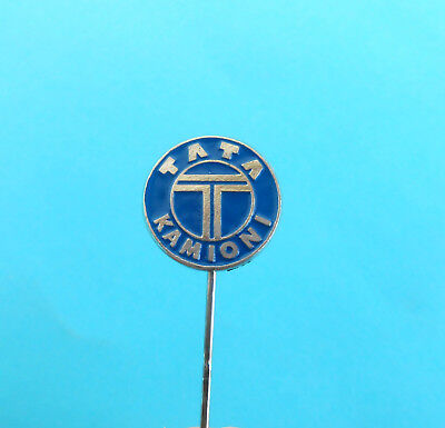 Tata Trucks   Tata Motors     India Automotive Manufacturer Vintage Pin Badge  1