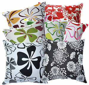 Life-Style-Flower-Leaf-Print-Cotton-Canvas-Cushion-Cover-Pillow-Case-Custom-Size