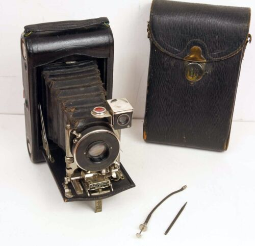 No. 3 Autographic Kodak Special Model A Folding Camera with Case, Scribe, Cable