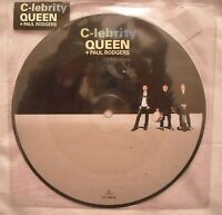 45 Queen + Paul Rodgers - C-lebrity - Anno 2008 - Picture Disc - Mint -  - ebay.it