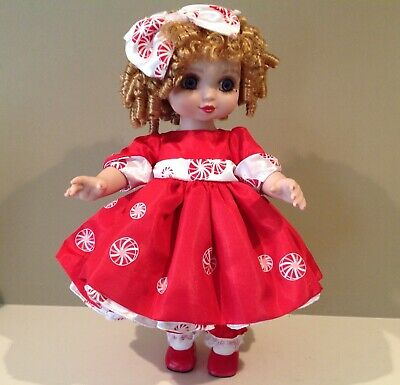 "2005 Marie Osmond Holiday Adora Belle 15"" Full Bodied Vinyl Doll C09237"