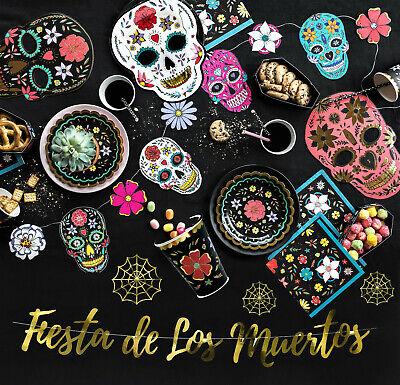 Halloween Party Deko Set Kinder Dekoration mexikanisch Tischdeko - Dekoration Der Party