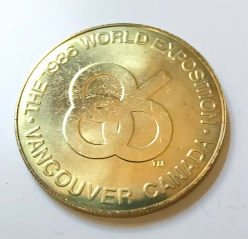 1986 Vancouver Expo Official Medallion